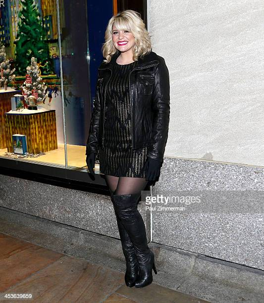 Rockefeller Christmas Tree Lighting 2014: Pantyhose Gloves Stock Photos And Pictures