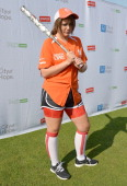 Lauren Alaina attends the City of Hope Celebrity Softball Game during the CMA Festival at Greer Stadium on June 7 2014 in Nashville Tennessee