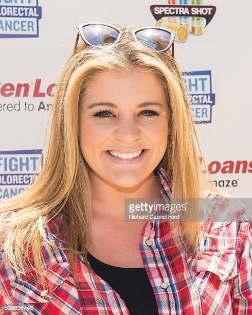 Lauren Alaina attends the Craig Campbell celebrity cornhole challange on June 7 2016 in Nashville Tennessee