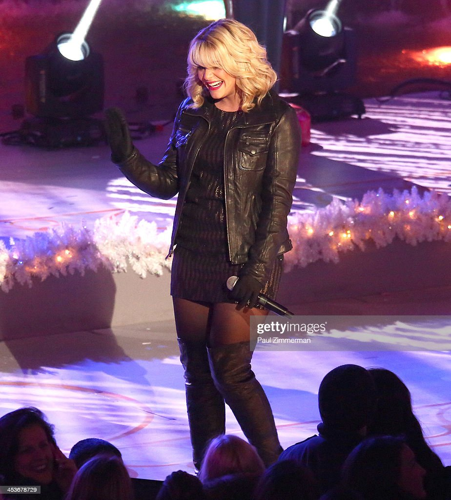 <a gi-track='captionPersonalityLinkClicked' href=/galleries/search?phrase=Lauren+Alaina&family=editorial&specificpeople=7520947 ng-click='$event.stopPropagation()'>Lauren Alaina</a> performs at the 81st annual Rockefeller Center Christmas Tree Lighting Ceremony on December 4, 2013 in New York City.