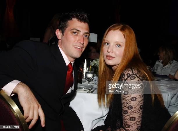 Lauren Ambrose and guest during American Women in Radio Television 27th Annual Gracie Allen Awards at New York Hilton Grand Ballroom in New York City...