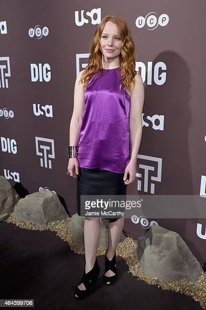 Lauren Ambrose attends 'Dig' Series New York Premiere at Capitale on February 25 2015 in New York City