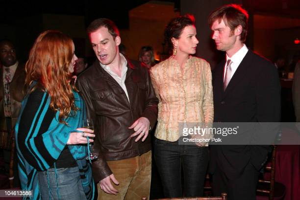 Lauren Ambrose Michael C Hall Rachel Griffiths and Peter Krause