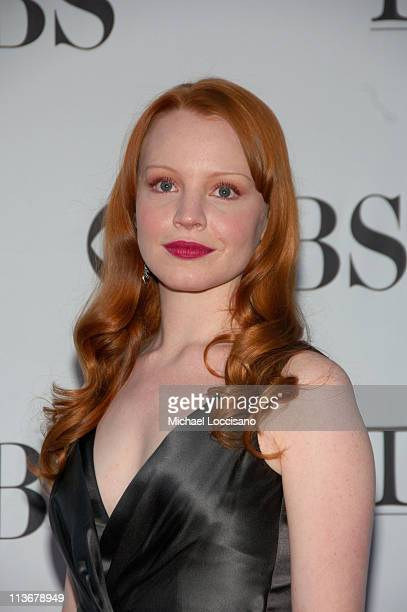 Lauren Ambrose presenter and winner announcer for Best Book of a Musical