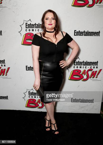 Lauren Ash at Entertainment Weekly's annual ComicCon party in celebration of ComicCon 2017 at Float at Hard Rock Hotel San Diego on July 22 2017 in...