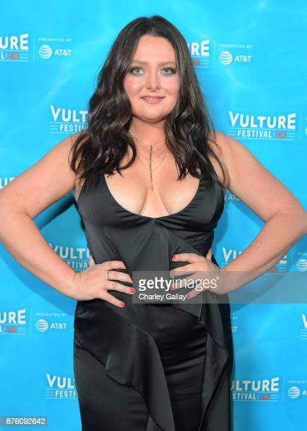 Lauren Ash attends the ''Unreal vs Superstore Pop Culture Trivia Game Show' part of Vulture Festival LA Presented by ATT at Hollywood Roosevelt Hotel...