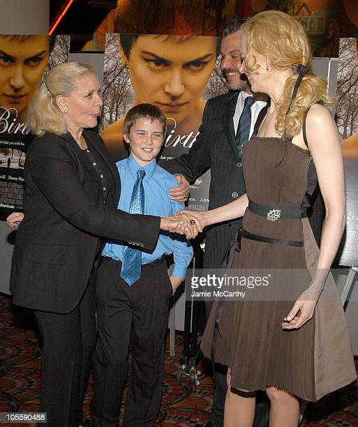 Lauren Bacall Cameron Bright Danny Huston and Nicole Kidman