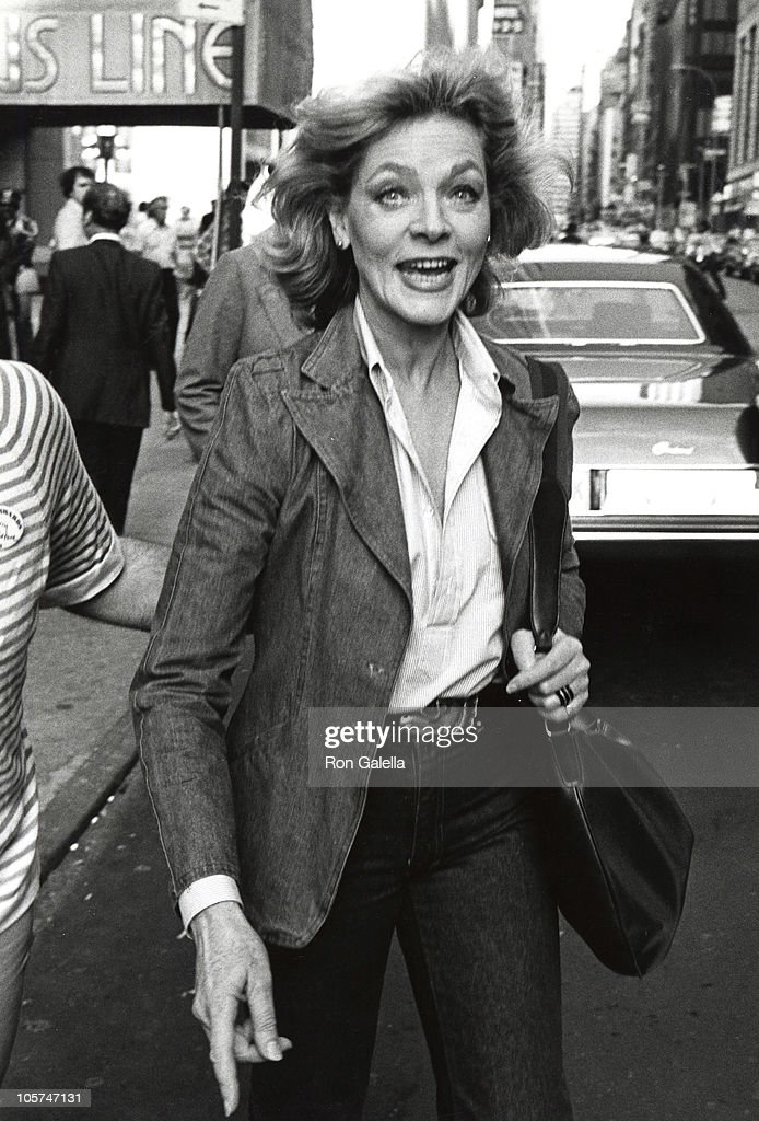 Lauren Bacall during Rehearsals for the 32nd Annual Tony Awards June 3 1978 at Shubert Theater in New York City New York United States