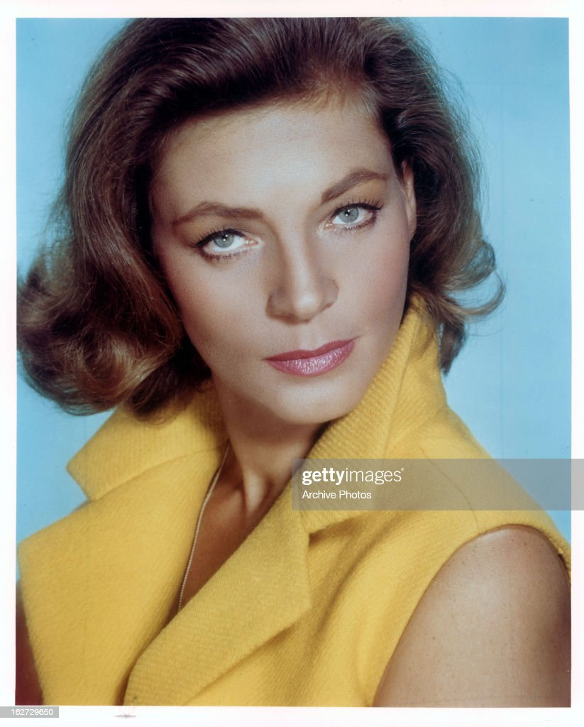 Lauren Bacall publicity portrait for the film 'Sex And The Single Girl' 1964