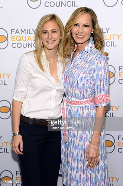 Lauren Blitzer Wright and singer Chely Wright attend the Family Equality Council's 2014 Night at the Pier at Pier 60 on May 12 2014 in New York City