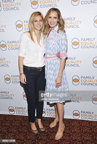 Lauren BlitzerWright and singer Chely Wright attend the Family Equality Council 9th Annual Night At The Pier at Pier 60 on May 12 2014 in New York...