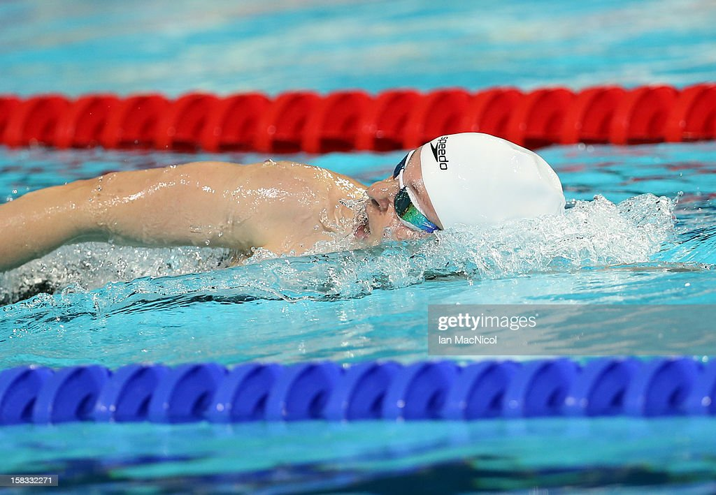 Lauren Boyle of New Zealand in action during the Women's 800m Freestyle Final during day two of the FINA World Short Course Swimming Championships on December 13, 2012 in Istanbul, Turkey.