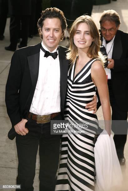Lauren Bush and David Lauren arrive for the annual Vanity Fair Party at Mortons Restaurant Los Angeles