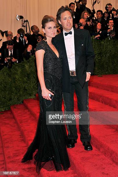 Lauren Bush and David Lauren attends the Costume Institute Gala for the 'PUNK Chaos to Couture' exhibition at the Metropolitan Museum of Art on May 6...