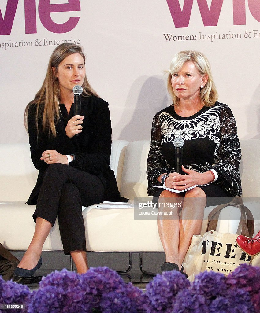 Lauren Bush and <a gi-track='captionPersonalityLinkClicked' href=/galleries/search?phrase=Sharon+Bush&family=editorial&specificpeople=217522 ng-click='$event.stopPropagation()'>Sharon Bush</a> attend day 1 of the 4th Annual WIE Symposium at Center 548 on September 20, 2013 in New York City.