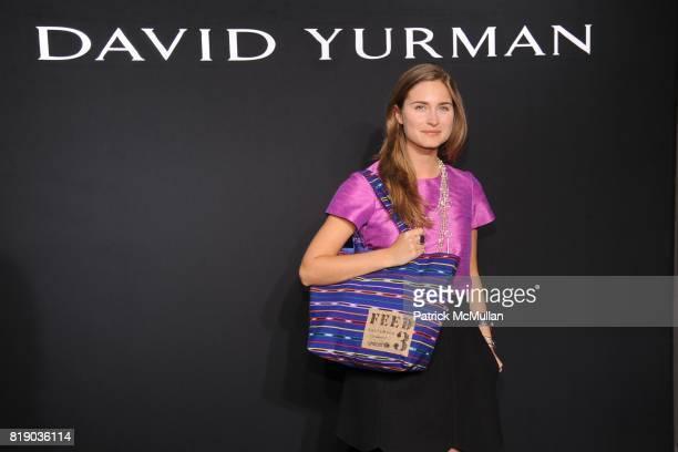 Lauren Bush attends DAVID YURMAN Townhouse Opening Celebration to benefit The Society of Memorial SloanKettering Cancer Center at David Yurman...
