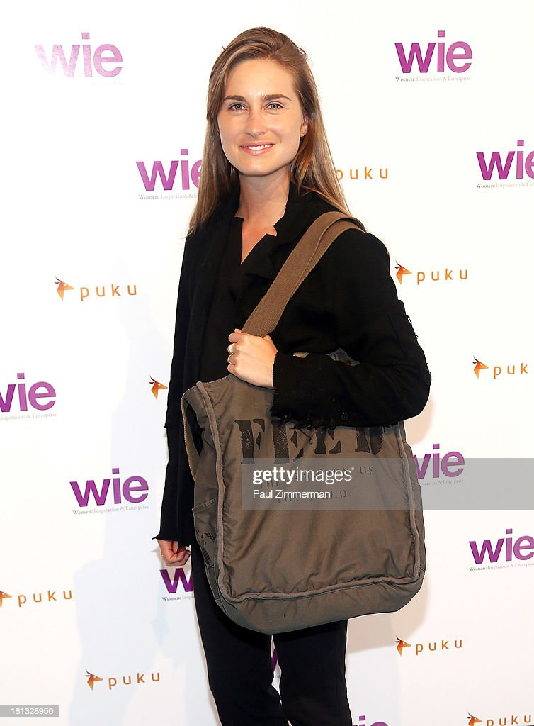 Lauren Bush attends the 4th Annual WIE Symposium at Center 548 on September 20, 2013 in New York City.