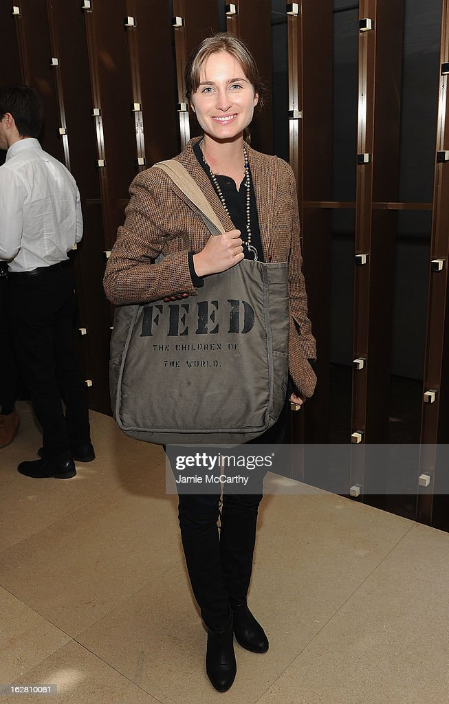 Lauren Bush attends the Bank Of America And Food & Wine With The Cinema Society Screening Of 'A Place At The Table' After Party at Riverpark on February 27, 2013 in New York City.