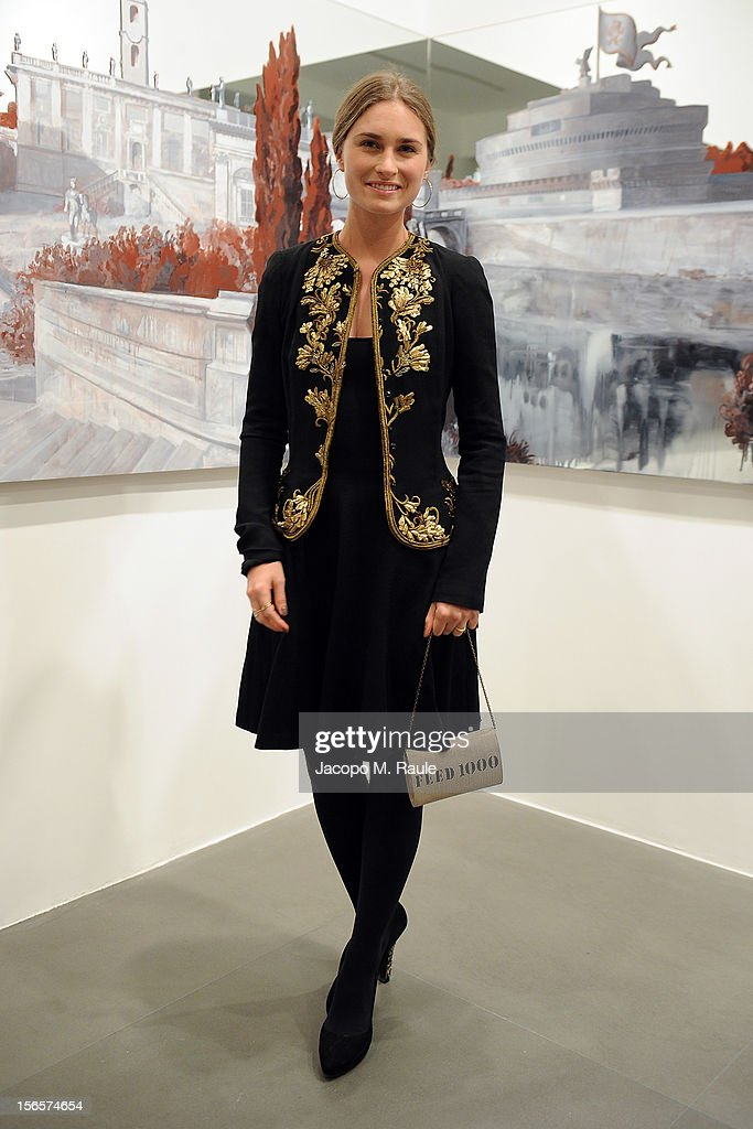 Lauren Bush attends the closing drinks at the Gagosian Gallery during the third day of the 2012 International Herald Tribune's Luxury Business Conference held at Rome Cavalieri on November 16, 2012 in Rome, Italy. The 12th annual IHT Luxury conference is the premier meeting point for the luxury industry. 500 delegates from 30 countries have gathered in Rome to hear from the world's most inspirational fashion designers and luxury business leaders.