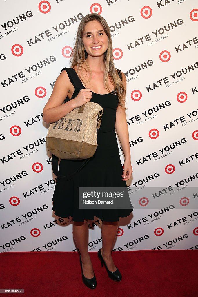 Lauren Bush attends the Kate Young for Target launch event on April 9, 2013 in New York City.