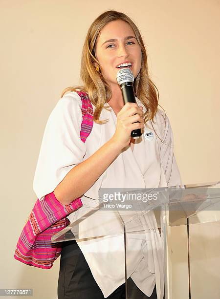 Lauren Bush attends UNICEF's Next Generation Photo Benefit at Phillips de Pury Company on June 15 2011 in New York City
