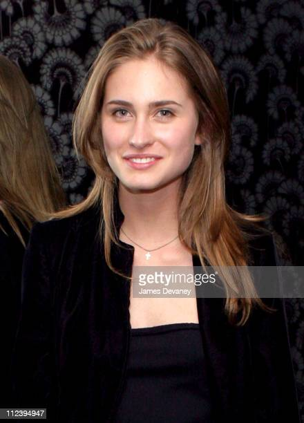 Lauren Bush during Nadja Swarovski Hosts Dinner in Honor of the 2003 CFDA Fashion Award Nominees and Honorees at Soho House in New York City New York...