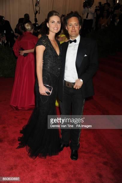Lauren Bush Lauren and David Lauren attend the 'Punk' Chaos to Couture' Costume Institute Benefit Met Gala at the Metropolitan Museum in New York