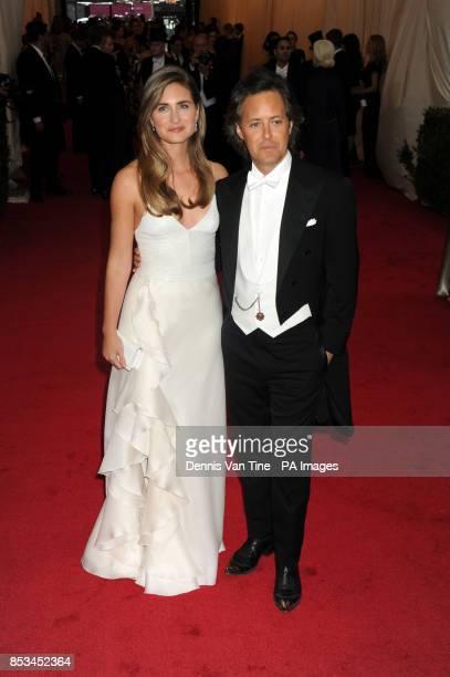 Lauren Bush Lauren and David Loren arriving at the Met Gala event at the Metropolitan Museum of Art in New York USA