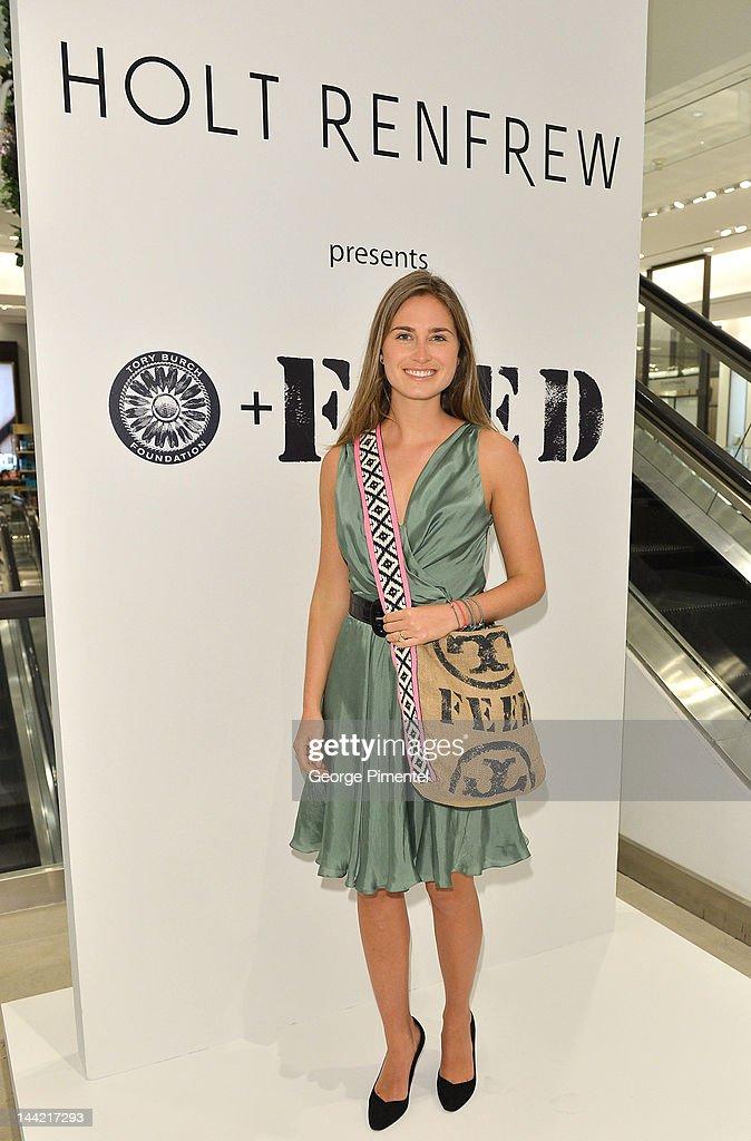 "Holt Renfrew And Lauren Bush Lauren Launch World-Wide Exclusive ""FEED"" Tote Designed By Tory Burch"
