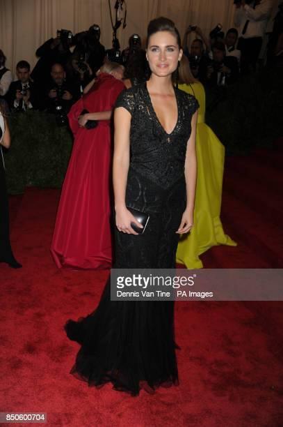 Lauren Bush Lauren attends the 'Punk' Chaos to Couture' Costume Institute Benefit Met Gala at the Metropolitan Museum in New York