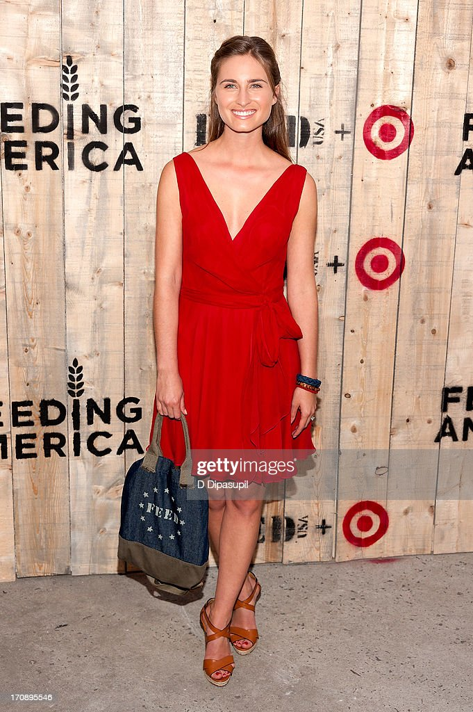 Lauren Bush Lauren attends the Target FEED Collaboration launch at Brooklyn Bridge Park on June 19, 2013 in New York City.