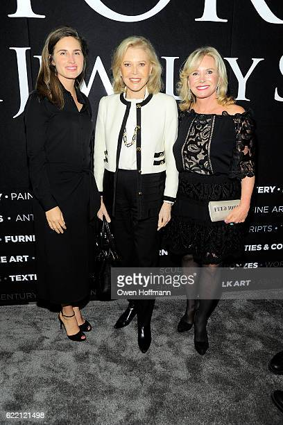 Lauren Bush Lauren Audrey Gruss and Sharon Bush attend 2016 NYAAJS Opening Night at Pier 94 on November 9 2016 in New York City