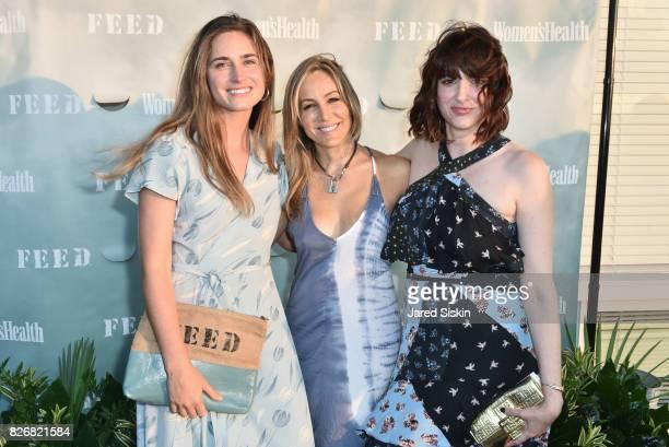 Lauren Bush Lauren Laura FrererSchmidt and Amy Keller Laird attend Women's Health and FEED's 6th Annual Party Under the Stars at Bridgehampton Tennis...
