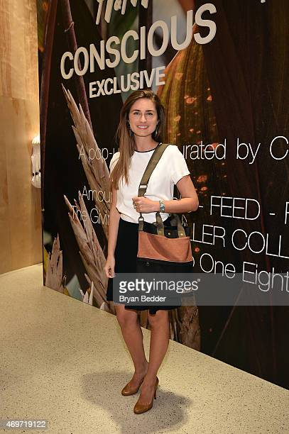 Lauren Bush Lauren of FEED attends the HM Olivia Wilde and Conscious Commerce celebration of the opening of The Conscious PopUp Shop on April 14 2015...