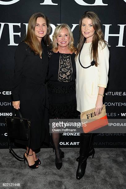 Lauren Bush Lauren Sharon Bush and Nicole Noonan attend 2016 NYAAJS Opening Night at Pier 94 on November 9 2016 in New York City