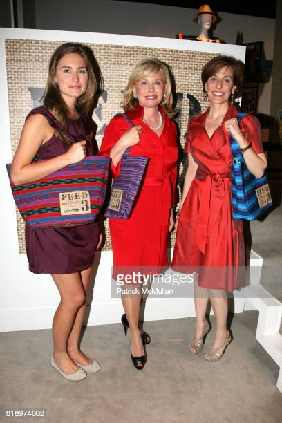 Lauren Bush Sharon Bush and Jaqui Lividini attend LORD TAYLOR Mother/Daughter Tea for FEED with LAUREN BUSH and ELLEN GUSTAFSON at Lord Taylor on May...