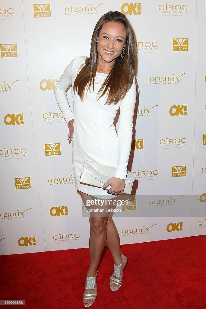 Lauren C. Mayhew attends the OK! Magazine Pre-GRAMMY Party at Sound on February 7, 2013 in Hollywood, California.