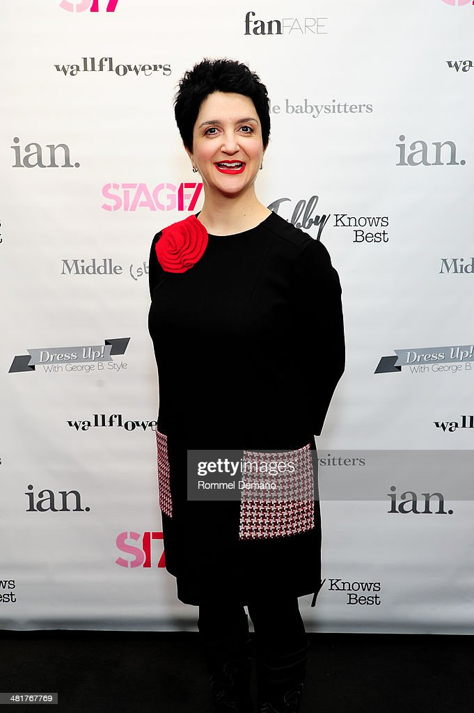 Lauren 'Coco' Cohn attends the Stage17 Premiere at Walter Reade Theater on March 31, 2014 in New York City.