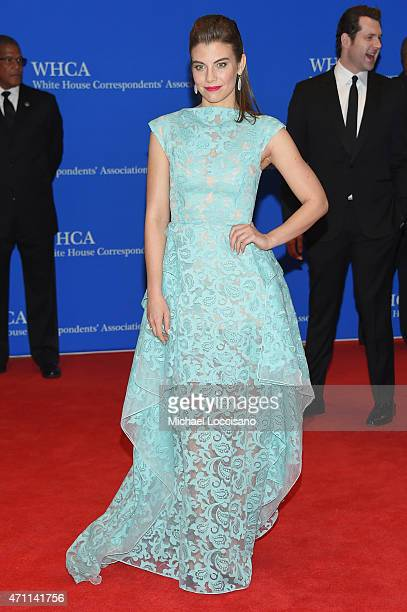 Lauren Cohan attends the 101st Annual White House Correspondents' Association Dinner at the Washington Hilton on April 25 2015 in Washington DC