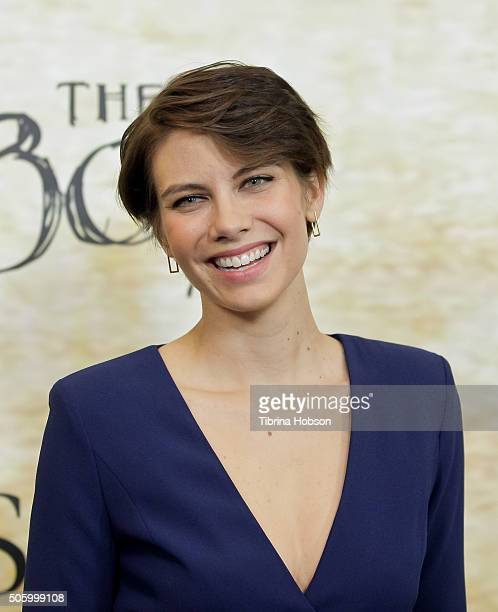 Lauren Cohan attends the premiere of STX Entertainment's 'The Boy' at Cinemark Playa Vista on January 20 2016 in Los Angeles California