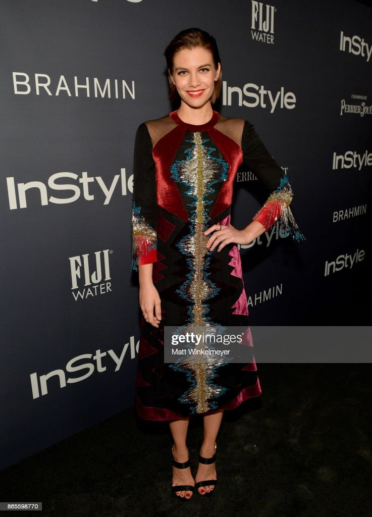Lauren Cohan attends the Third Annual 'InStyle Awards' presented by InStyle at The Getty Center on October 23, 2017 in Los Angeles, California.