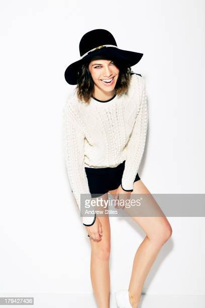Lauren Cohan for Foam Magazine on July 11 2013 in Santa Monica California PUBLISHED IMAGE ON DOMESTIC EMBARGO UNTIL DECEMBER 1 2013 ON INTERNATIONAL...