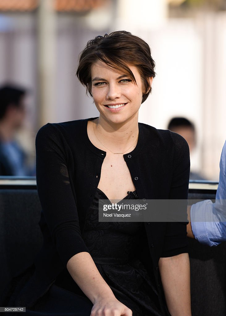 "Lauren Cohan On ""Extra"""