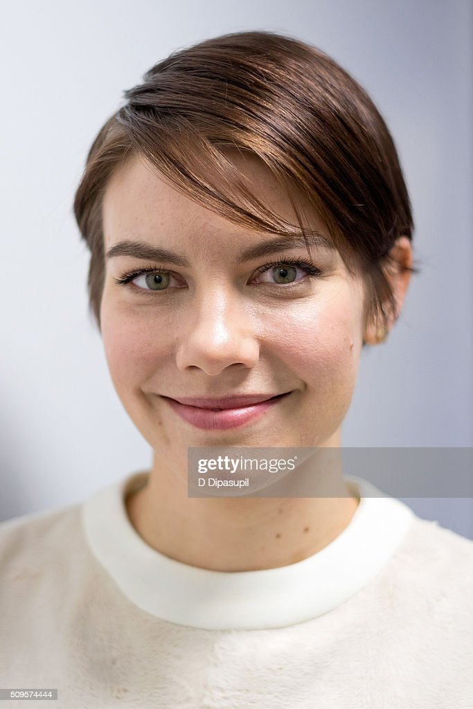 <a gi-track='captionPersonalityLinkClicked' href=/galleries/search?phrase=Lauren+Cohan&family=editorial&specificpeople=4421688 ng-click='$event.stopPropagation()'>Lauren Cohan</a> visits SiriusXM Studios on February 11, 2016 in New York City.