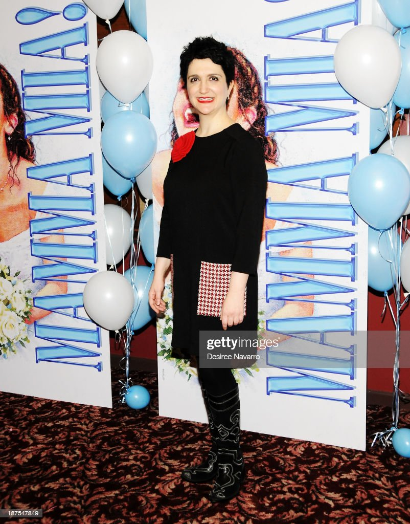 Lauren Cohn attends the 5,000 performance celebration of 'Mamma Mia!' on Broadwayat Sardi's on November 9, 2013 in New York City.