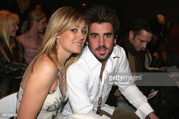 Lauren Conrad and Jason Wahler attend the Zang Toi Fall 2006 fashion show during Olympus Fashion Week at Bryant Park February 6 2006 in New York City