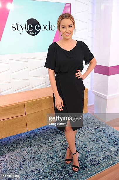 Lauren Conrad appears on Amazon's Style Code Live on March 28 2016 in New York City