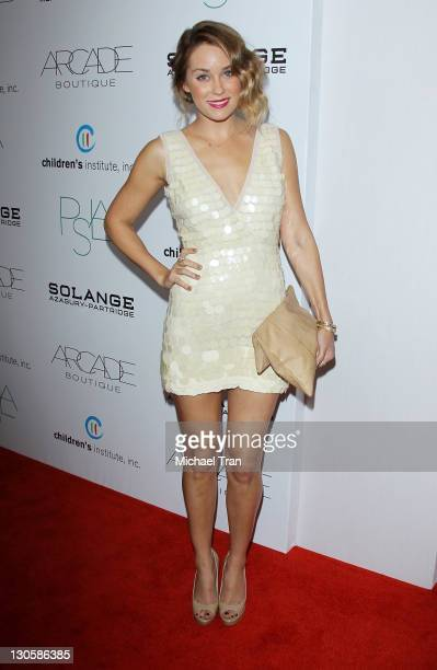 Lauren Conrad arrives at the 2nd Annual 'Autumn Party' benefiting Children's Institute held at The London Hotel on October 26 2011 in West Hollywood...