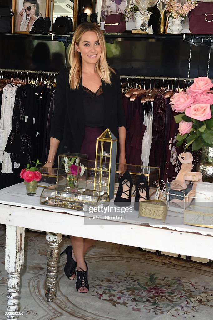 LC Lauren Conrad Runway Pop-Up Shop at The Americana at Brand : News Photo