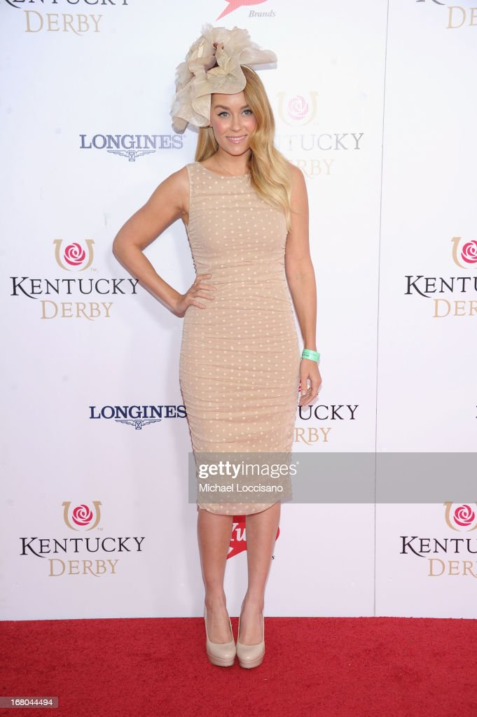 <a gi-track='captionPersonalityLinkClicked' href=/galleries/search?phrase=Lauren+Conrad&family=editorial&specificpeople=537620 ng-click='$event.stopPropagation()'>Lauren Conrad</a> attends the 139th Kentucky Derby at Churchill Downs on May 4, 2013 in Louisville, Kentucky.